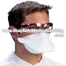 Extra safe StaySafe folded medical face mask