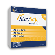 StaySafe Medical Caps Packaging