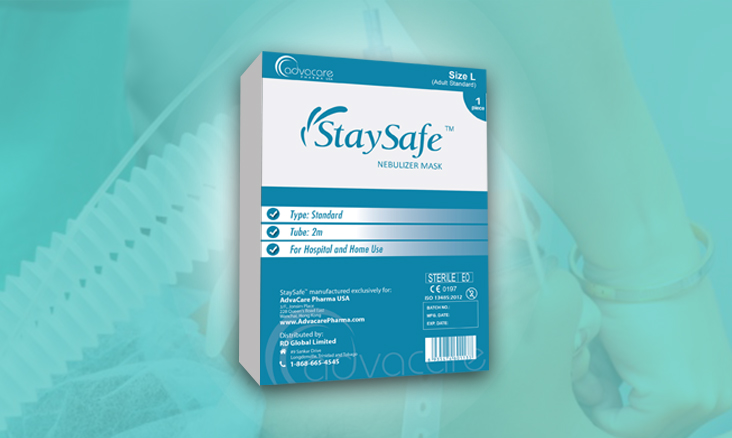 StaySafe Oxygen Masks Packaging