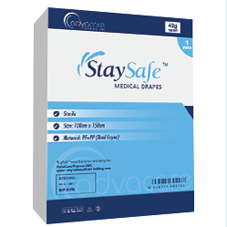 StaySafe Surgical Drapes Packaging