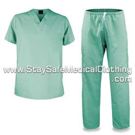 Disposable Medical Scrub